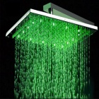 8 inch LED Color Changing Square Shower Head