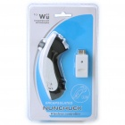 2.4G Wireless Nunchuck Controller for Wii - White + Black