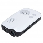 Portable Mini Home / Office Cinema Multimedia Player LCoS RGB Lens Projector w/ AV/TF Slot (4GB)