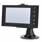 "2-em-1 de 4,3 ""Touch Screen Win CE GPS Navigator + 3MP CMOS Digital Car DVR Camcorder w / TF - Preto"