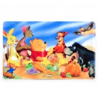 Cute Winnie the Pooh Pattern Card Style USB Flash Drive (2GB)