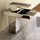 Modern Waterfall Chrome Bathroom Faucet