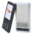 Nokia Cell Phone Style Portable Digital Pocket Scale - 100g/0.01g (2 x AAA)