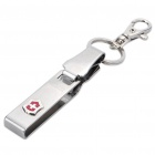 Genuine Victorinox Stainless Steel Belt Clip Keychain