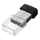 Ultra-Mini Nano USB 2.0 802.11n/b/g 150Mbps Wi-Fi/WLAN Wireless Network Adapter - Black