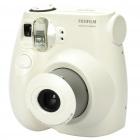 Genuine Fujifilm instax mini 7S Retro Style Instant Point and Shoot Film Camera - White (4xAA)