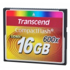 Genuine Transcend Premium 600X CompactFlash CF Memory Card (16 GB)