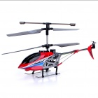 M2 Rechargeable 3.5-CH R/C Helicopter with Gyroscope - Red (Radio Control/6 x AA)