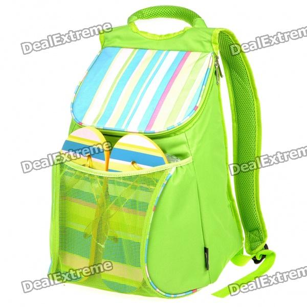 Fashion Beach Cooler Bag Ice Bag Backpack with Straw Mat ...
