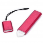 Flat Touch Screen Stylus with Strap for Nokia N97 - Red