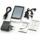 "L601 3.5"" Touch Screen Android 2.2 Dual SIM Quadband GSM TV Cell Phone w/ GPS - Silver"