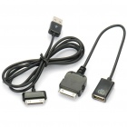 iPad to USB Host Adapter Cable Camera Connection Kit - Black (22CM-Length)