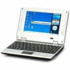 "7 ""TFT LCD Windows CE 6.0 VIA8650 CPU Wi-Fi UMPC Netbook - Schwarz (349.79MHz/2GB/3xUSB/SD/LAN)"