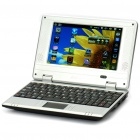 "7"" TFT LCD Android 2.2 VIA8650 CPU Wi-Fi UMPC Netbook - Black (349.79MHz/2GB/3xUSB/SD/LAN)"