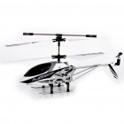 M5 Rechargeable 3.5-CH R/C Helicopter with Gyroscope - Black + White (IR Remote/6 x AA)