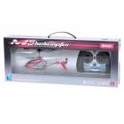 M5 Rechargeable 3.5-CH R/C Helicopter with Gyroscope - Red + White (IR Remote/6 x AA)