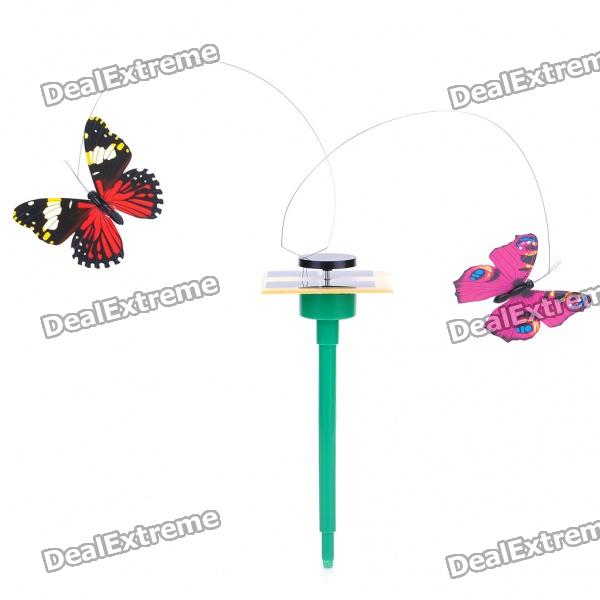 Solar Powered Butterflies (Pair / Color Assorted)