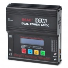 "2.4"" LCD AC/DC Dual Power B6AC+ 80W RC Balance Charger/Discharger"