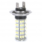 H7 5W 68-SMD LED 6000K 400-Lumen White Fog Light for Car (DC 12V)
