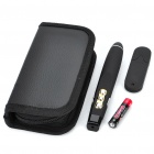 2.4GHz 100mW Wireless Presenter with Red Laser Pointer - Black (1 x AAA)