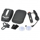 Multi-Band Radar/Laser Detector with Windshield Mount