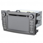 "7"" LCD Touch Screen DVD Media Player with FM/TV/MicroSD for Toyota Corolla Cars"