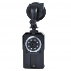 2.0MP 720P Wide Angle Car Mini DVR Camcorder w/ 8-LED IR Night vision/SD/HDMI/Mini USB (2.5