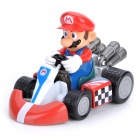 Cute Mario Figure Pull-Back Car - Mario