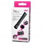 2.4GHz USB 100mw RF Wireless Presenter w/ Laser Pointer - Black