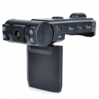 "2.0MP Wide Angle Digital Dual Cameras Car DVR Camcorder w/ 8-LED IR Night Vision/TF (2.0"" LCD)"