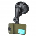 "5.0MP Wide Angle Digital Car DVR Camcorder w/ Night Vision/TF/AV-Out (2.0"" LCD)"