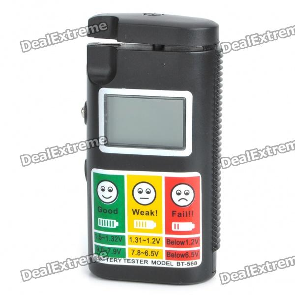 "1.2 ""LCD Digital High Accuracy Batteritestare (2 x AAA)"