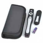 Wireless USB RF Presenter w/ Laser Pointer - Black + Silver