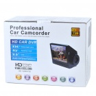 "3.0MP 720P Wide Angle Car DVR Camcorder w/ 8-LED IR Night Vision/SD/HDMI/Mini USB (2.5"" LCD)"