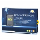 Handheld Portable Mini GSM/GPRS/GPS Vehicle Tracker - Black