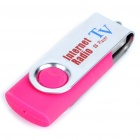 Compact USB Worldwide Internet TV/Radio/Games/MTV/Movie Player Dongle - Deep Pink