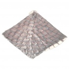 Elegant Decorative & Protective Pillow Cushion Cover - Silver Grey