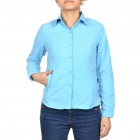 Fashion Women's Sun Protective Quick Dry Shirt - Sky Blue (Size XL)