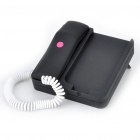 Unique Telephone Landline with 3.5MM Audio Jack for iPhone (Black)