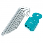 9-in-1 Precision Metal Allen Key Tool Set (Extension Length)