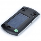 "1.5"" LCD Solar Bluetooth Car Kit with TF Card Slot  MP3 Player - Black"
