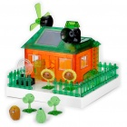 Solar/Batteries Powered Plants vs. Zombies Plants House Educational DIY Kits (2 x AA)