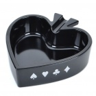 Unique Poker Suit Style Melamine Ashtray - Spade