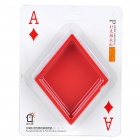 Unique Poker Suit Style Melamine Ashtray - Diamond
