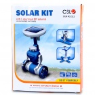 Solar Powered Toys Educational DIY Kit Set (6-Model)