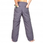 Outdoor Quick Dry Sun Protective Zip Off Pants - Dark Grey (Size S)
