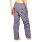 Outdoor Quick Dry Sun Protective Zip Off Pants - Dark Grey (Size M)