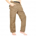 Outdoor Quick Dry Sun Protective Zip Off Pants - Army Green (Size M)
