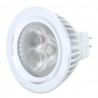 MR16 3W 6500K 270-Lumen 3-LED White Light Bulb (12V)