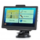 "7.0"" Touch Screen LCD WinCE 6.0 GPS Navigator w/ FM + Internal 4GB USA & Canada Maps"